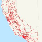 List Of Interstate Highways In California   Wikipedia   California Interstate Highway Map