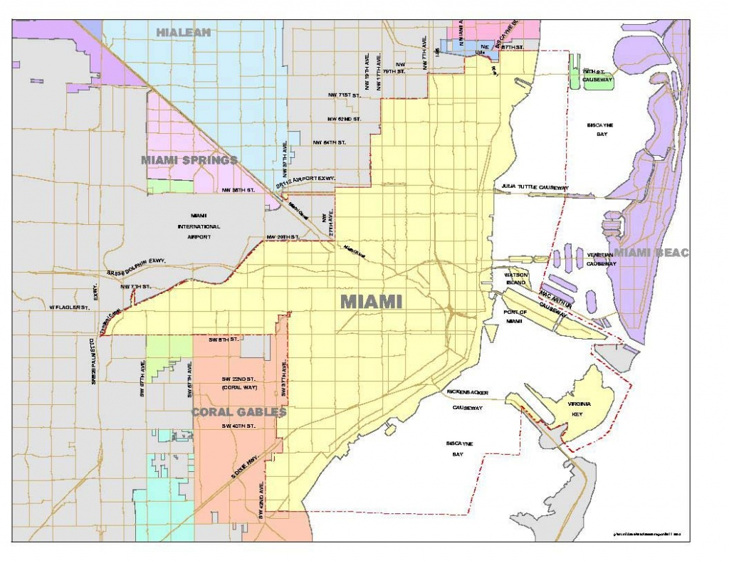 List Of Neighborhoods In Miami - Wikipedia - Coconut Grove Florida Map