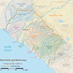 List Of Rivers Of Orange County, California - Wikipedia - California Rivers Map