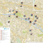 List Of Tourist Attractions In Paris - Wikipedia - Printable Map Of Paris France