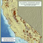 Little Known Reasons For Ground Subsidence In California | Cse For   Map Of Abandoned Mines In California