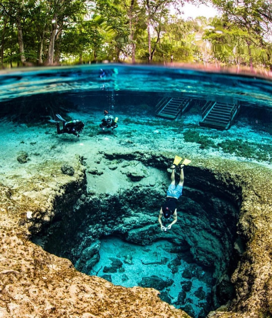 """Livingonearth On Instagram: """"Clear Waters Of Ginnie Springs In - Ginnie Springs Florida Map"""
