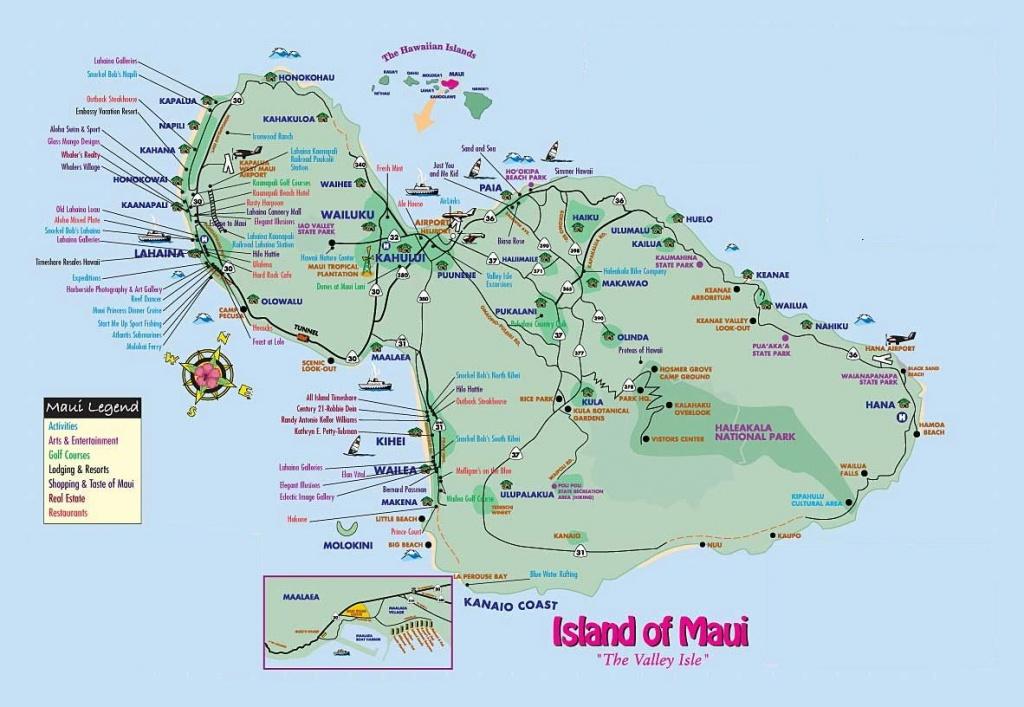 Loading Maui Map | Aloha ~ Maui | Maui Attractions, Maui Travel, Maui - Maui Road Map Printable