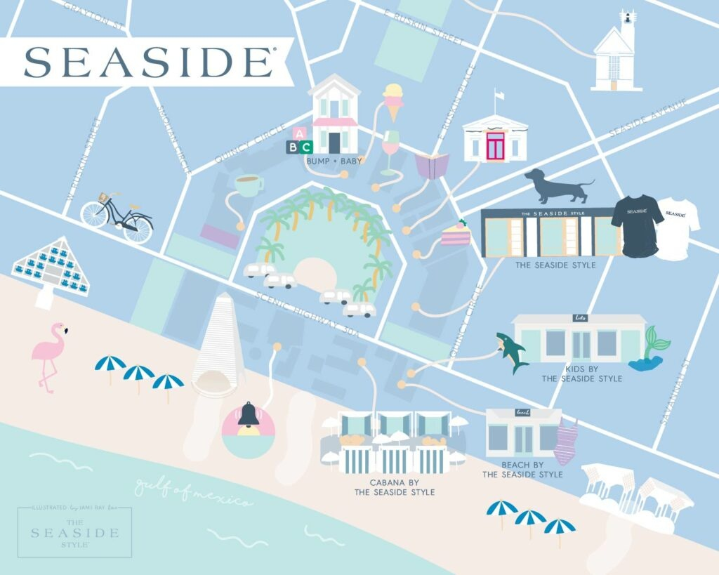 Local Love: The Seaside Style - 30A Mama™ | Jami Ray30A Mama™ | Jami Ray - Where Is Seaside Florida On Map