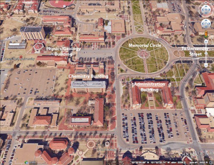Texas Tech Campus Map