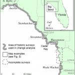 Location Map Of Florida Big Bend Marsh Coast On The Gulf Of Mexico   Gulf Of Mexico Map Florida