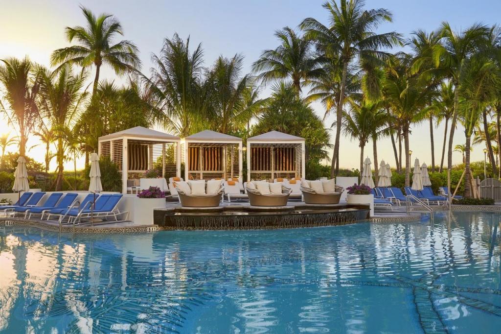 Loews Miami Beach Hotel, Fl - Booking - Map Of Miami Beach Florida Hotels