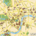 London Attractions Map Pdf   Free Printable Tourist Map London   Printable Map Of London England