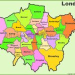 London Boroughs Map   Printable Map Of London Boroughs