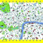 London Detailed Landmark Map | London Maps   Top Tourist Attractions   Free Printable Aerial Maps
