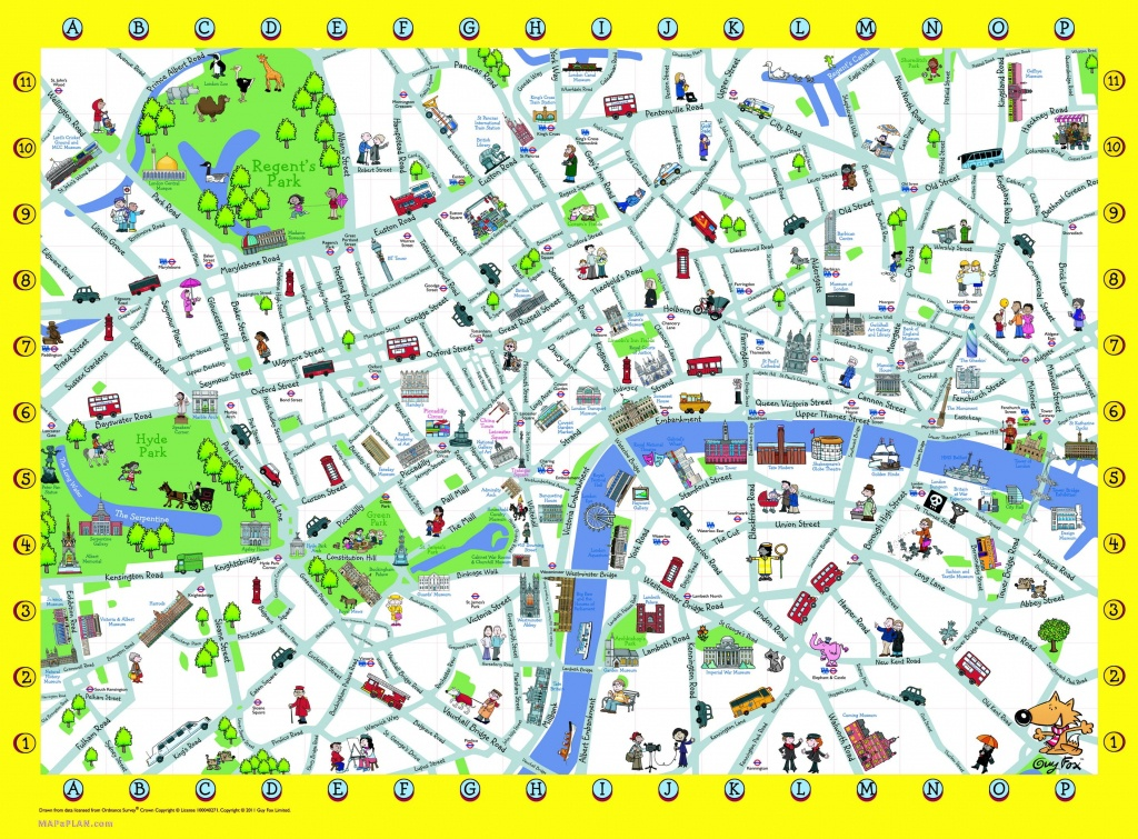 London Detailed Landmark Map | London Maps - Top Tourist Attractions - Free Printable Aerial Maps