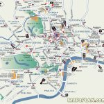 London Map Tourist Attractions And Of Printable   Capitalsource   Map Of London Attractions Printable