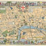London Maps Top Tourist Attractions Free Printable City Street - Printable Children's Map Of London
