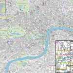 London Maps   Top Tourist Attractions   Free, Printable City Street   Printable Street Maps