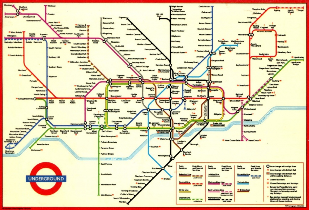 picture about Printable Map of London identify London Tube Map Printable Printable Maps