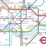 London Underground Map Printable | Deeplookpromotion Pertaining To   Printable Map Of The London Underground