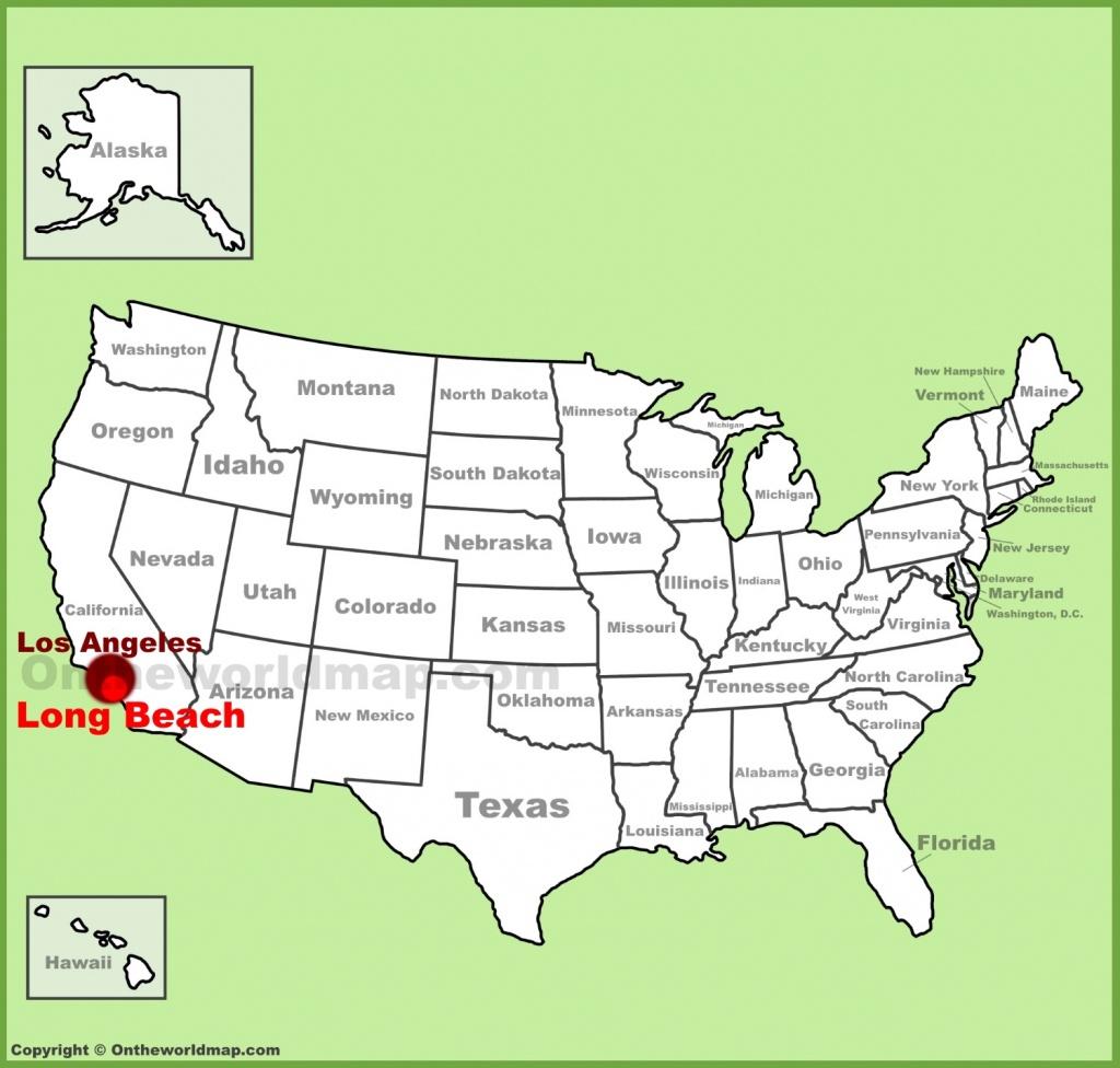 Long Beach Maps | California, U.s. | Maps Of Long Beach - Map Of Long Beach California And Surrounding Areas