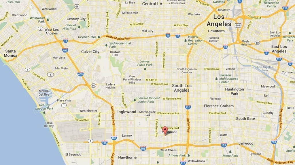 Los Angeles County Google Map – Map Of Usa District - Los Angeles California Google Maps