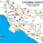 Los Angeles Freeway Map   City Sightseeing Tours   Map Of Southern California Freeway System