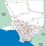 Los Angeles Highway Map - Los Angeles Highways Map (California - Usa) - Van Nuys California Map