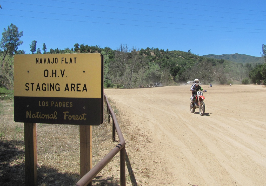 Los Padres National Forest - Pozo - La Panza Ohv Area - California Ohv Map