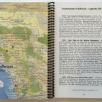 Lost Treasures Of California   Map And Guide   California Map Book