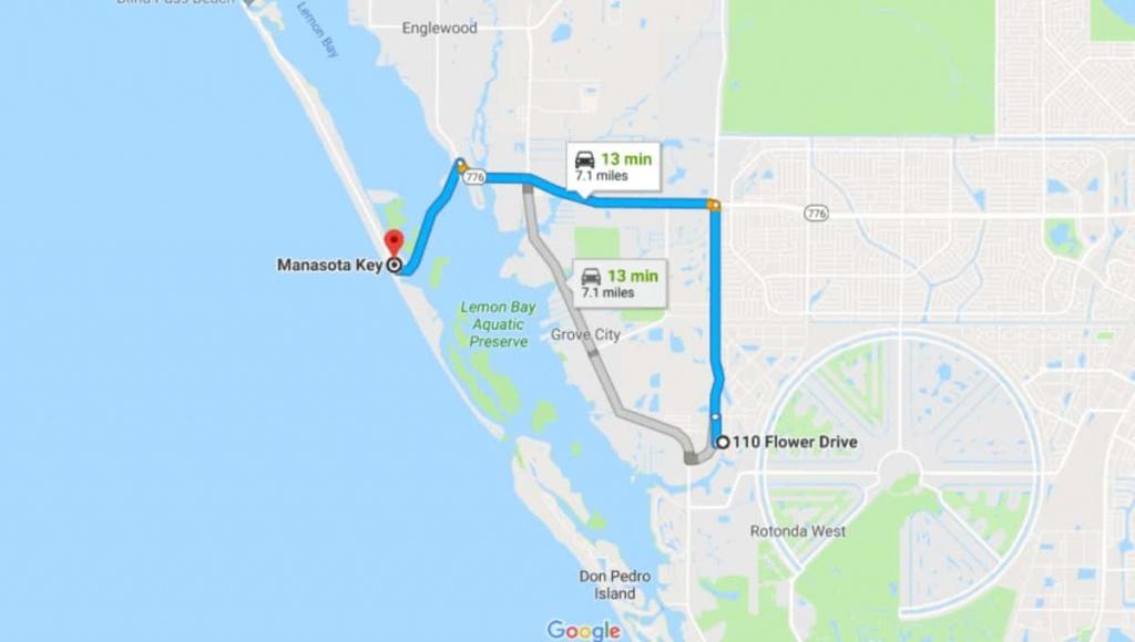 Lot - Rotonda West, Florida - 7 Miles From The Sea | Terrenos Na Florida - Rotonda Florida Map