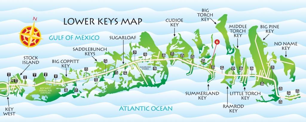 Lower Keys Map   Key West / Florida Keys Money Saving Discount Coupons - Map Of Lower Florida