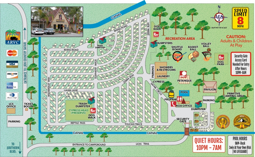 Loxahatchee, Florida Campground | West Palm Beach / Lion Country - Florida Camping Map