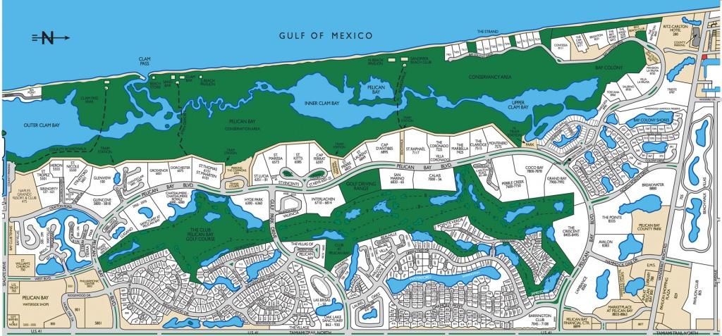Lugano Pelican Bay Naples, Florida - Pelican Bay Florida Map
