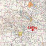 Luling, Texas   Luling Texas Map