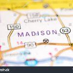 Madison Florida Usa On Map Stock Photo (Edit Now) 1120490483   Madison Florida Map