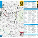 Madrid Tourist Attractions Map - Madrid City Map Printable
