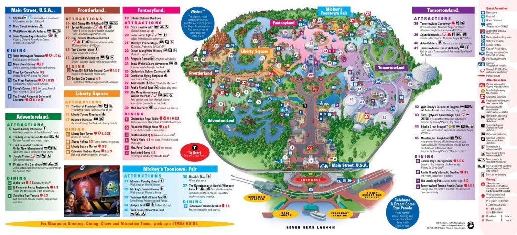 Magic Kingdom Downloadable Map |  À Magic Kingdom À Walt Disney - Walt Disney World Printable Maps