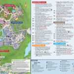 Magic Kingdom Park Map - Walt Disney World - Printable Epcot Map 2017