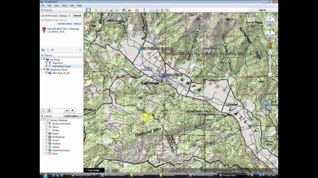 Make A Printed Map Using Google Earth And Drawing - Youtube - Google Earth Printable Maps