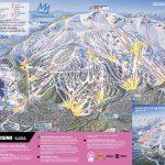 Mammoth Mountain Ski Area Trail Map   Onthesnow   Mammoth Mountain Map California