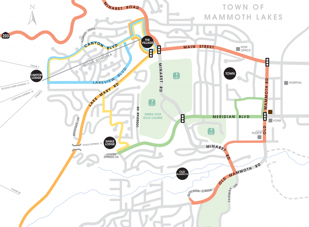 Mammoth Vacation Rentals | Mammoth Mountain Lodging And Mammoth - Mammoth California Map