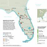 Manatee Invasion! – National Geographic Education Blog   Florida Springs Map