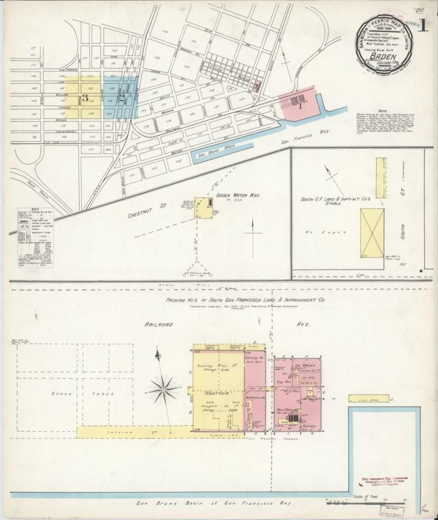 Map, 1800 To 1899, San Mateo County, California   Library Of Congress - San Bruno California Map