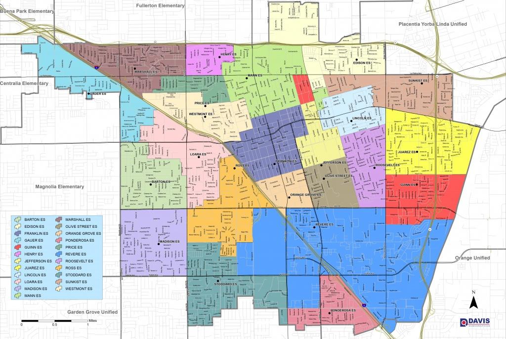 Map And Boundaries | Anaheim Elementary School District - Anaheim California Google Maps