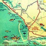 Map Art 8X10 Port St Joe Mexico Beach Florida Beach Wall Art | Etsy   St Joe Florida Map