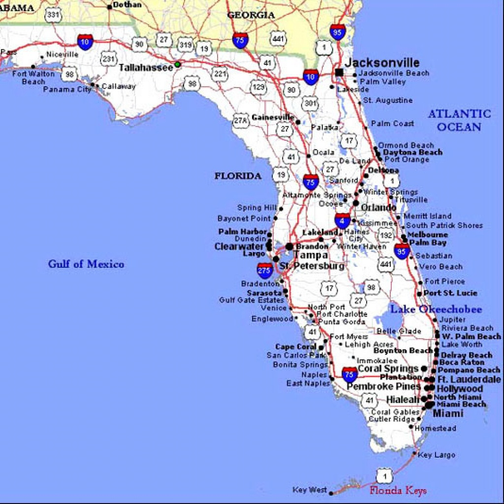 Map Central Florida - Central Florida Attractions Map
