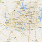Map Fort Worth   Map Of Fort Worth (Texas   Usa)   Fort Worth Texas Map