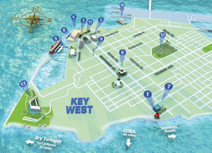 Street Map Of Key West Florida