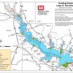 Map | Lake O' The Pines   East Texas Lakes Map