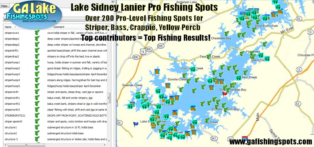 Map | Lake O' The Pines - Texas Fishing Hot Spots Maps | Printable Maps - Texas Lake Maps Fishing