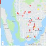 Map Lists Holiday Light Displays Throughout Cape Coral   Map Of Florida Including Cape Coral