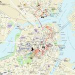 Map   Northendboston   Boston Tourist Map Printable