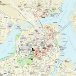 Map | Northendboston   Printable Map Of Boston Attractions
